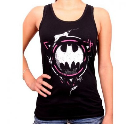 Débardeur Femme Noir Mystic Delinquent Batman