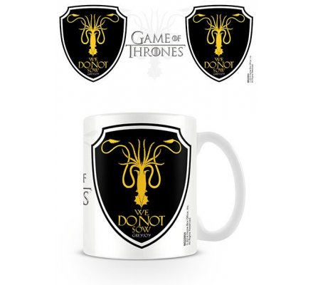 Mug Blanc Céramique Greyjoy Game of Thrones