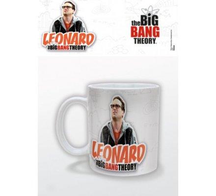 Mug Blanc Leonard The Big Bang Theory