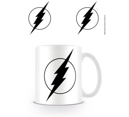 Mug Blanc Logo Noir Flash