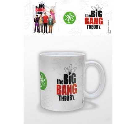 Mug Blanc Logo The Big Bang Theory