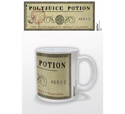 Mug Blanc Polyjuice Potion Harry Potter
