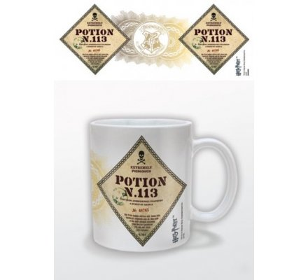 Mug Blanc Potion N 113 Harry Potter