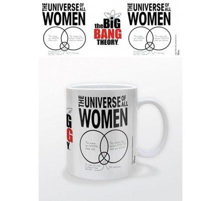 Mug Blanc Universe of All Women The Big Bang Theory