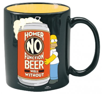 Mug Homer No Function Simpsons