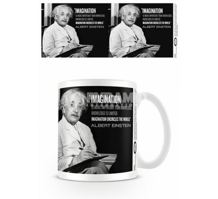 Mug Imagination Einstein