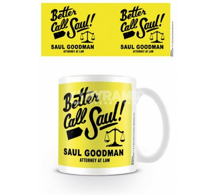 Mug Jaune Logo Better Call Saul