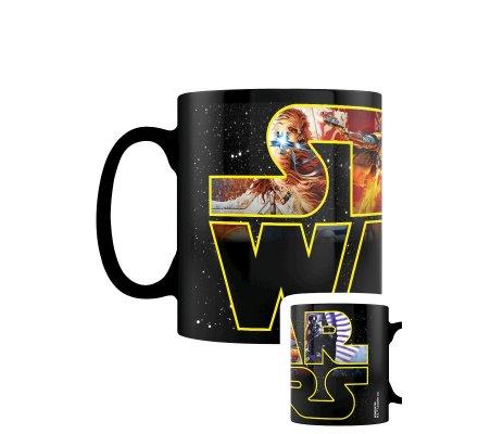 Mug thermoréactif Logo personnages Star Wars