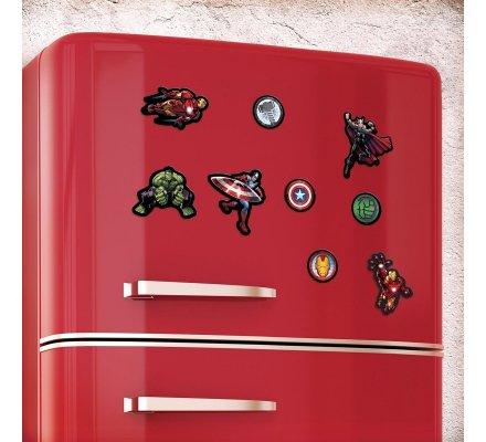 Pack de 18 aimants magnets Avengers Marvel