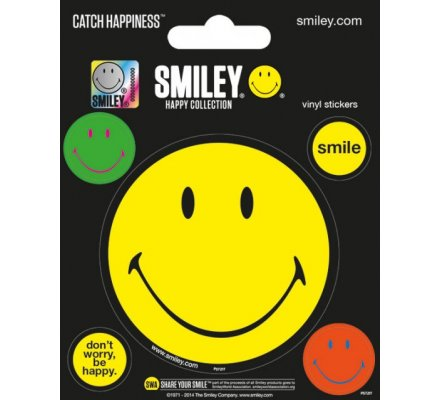 Pack de 5 Stickers Happy Collection Smiley