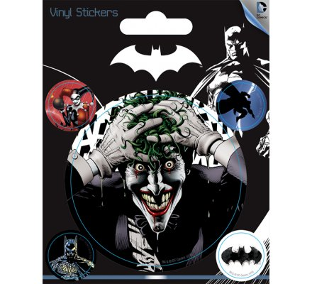 Pack de 5 Stickers Joker Batman