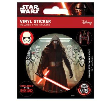 Pack de 5 Stickers Kylo Ren Star Wars