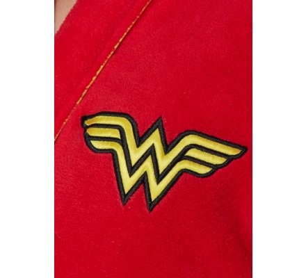 Peignoir Adulte Femme Retro Wonder Woman