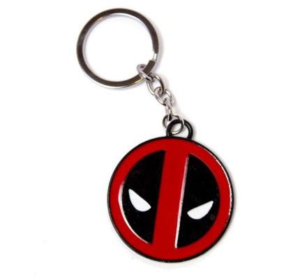 Porte-clés Acier Logo Deadpool