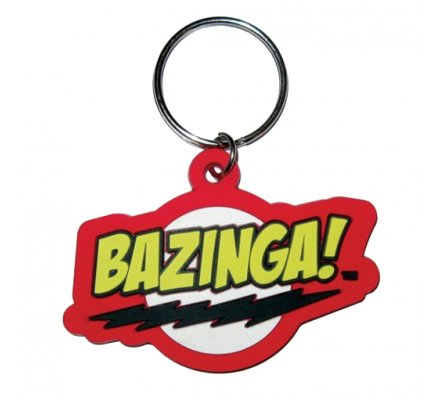 Porte-clés Bazinga The Big Bang Theory