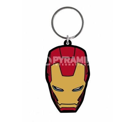Porte-clés Caoutchouc Avengers 6 cm Iron Man