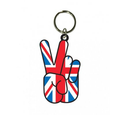 Porte-clés Union Jack Peace Londres