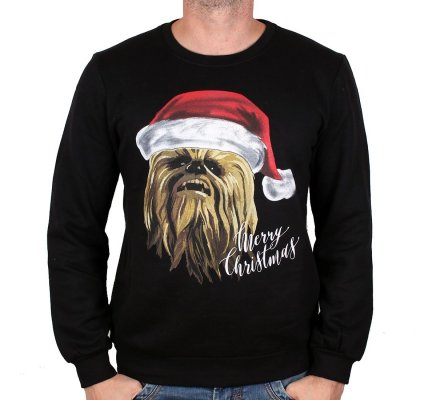 Pull de Noël Chewbacca Merry Christmas Star Wars