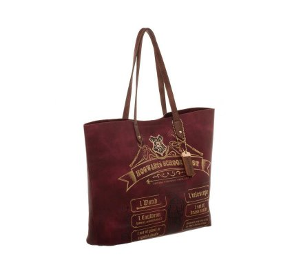 Sac 3838 Hogwarts Potter Main School Harry Bordeaux À List m08nNw