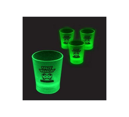 Shooters phosphorescents verts Space Invaders