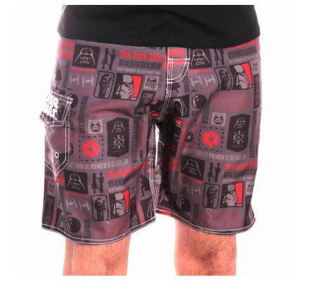 Short de Bain Gris All Over Star Wars