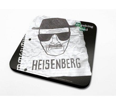 Sous-Verre Heisenberg Paper Breaking Bad