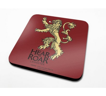 Sous-Verre Lannister 10 x 10cm Game of Thrones