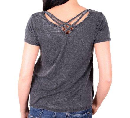 T-Shirt Femme Gris Vador Welcome Star Wars