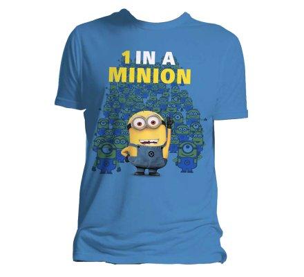 Tee-Shirt Bleu 1 in a Minion Moi Moche et Méchant