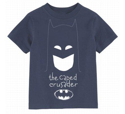 Tee Shirt Enfant Bleu Capes Crusader Batman