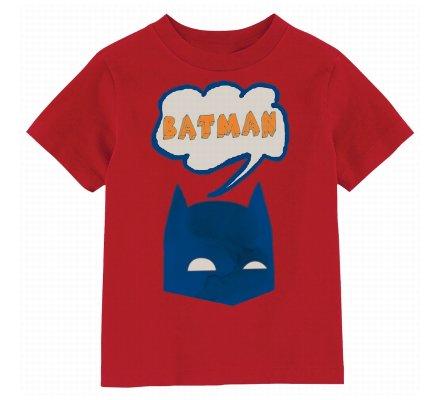 Tee Shirt Enfant Rouge BD Batman