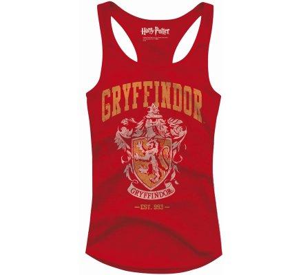 Débardeur Femme Rouge Gryffondor Harry Potter