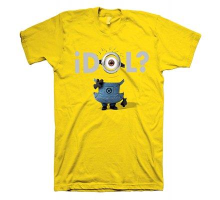 Tee-Shirt Jaune Idol Moi Moche et Méchant