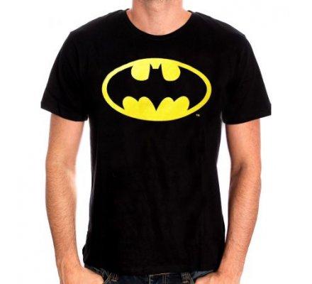 Tee-Shirt Noir Logo Classique Batman