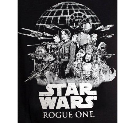 Tee-Shirt Noir Rebel Alliance Rogue One Star Wars
