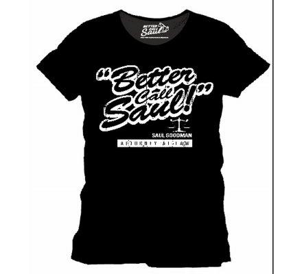 Tee-Shirt Noir Saul Goodman Better Call Saul