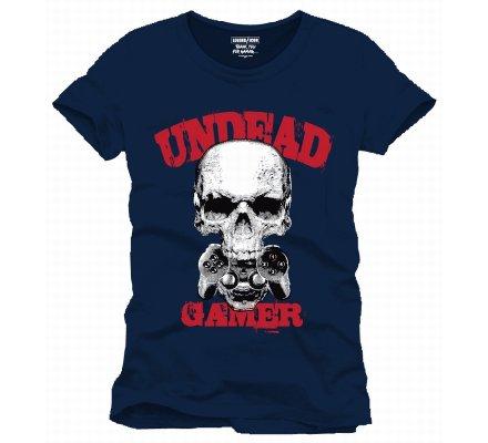 Tee-Shirt Undead Gamer Geek