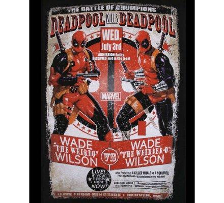 Tee-Shirt Wade VS Wilson Deadpool