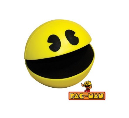 Balle Anti-Stress Jaune Pacman