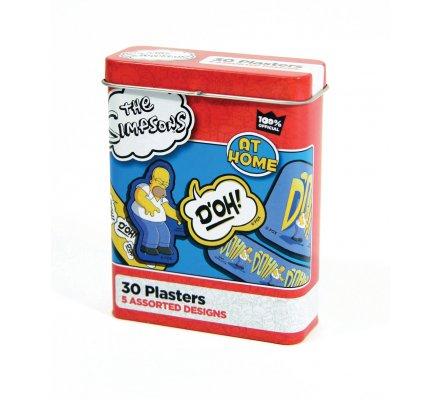 Boite Métal de 30 Pansements Simpsons