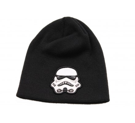 Bonnet Noir Storm Trooper Blanc Star Wars