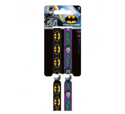 Bracelets Batman et Joker