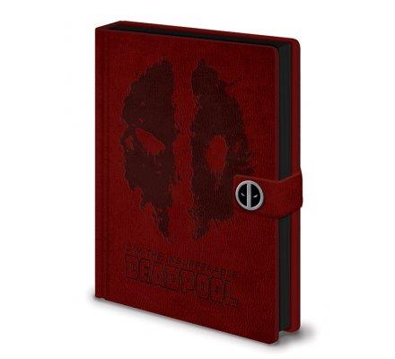Carnet Bloc Notes A5 Splat Deadpool