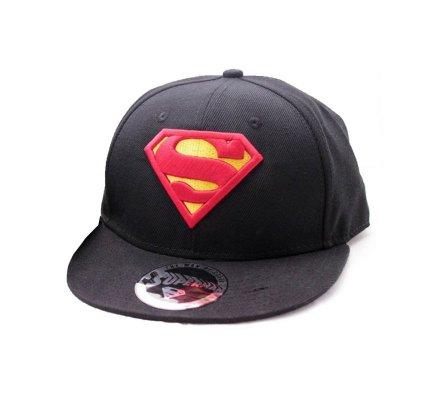 Casquette Noire Classic Logo Superman