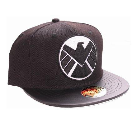 Casquette Noire Logo Shield Modern Captain America