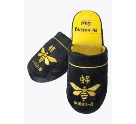 Chaussons Adulte Noirs Methylamine Breaking Bad