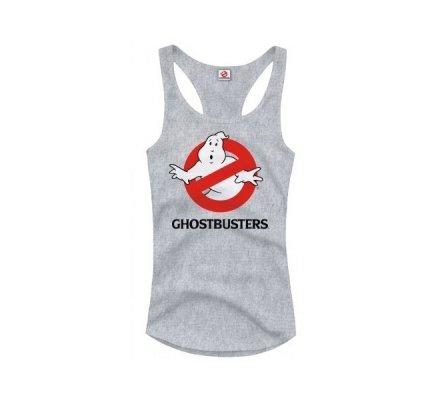 Débardeur Femme Gris Ghostbusters