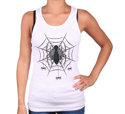 Débardeur Femme Toile Spiderman