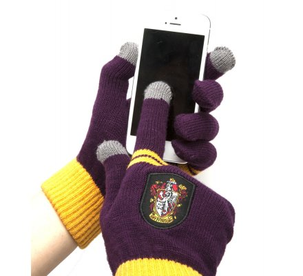 Gants Gryffondor E-Touch Violet Harry Potter