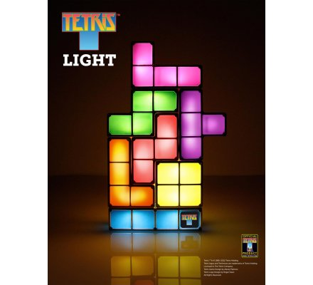 Lampe Blocs Lumineux Tetris